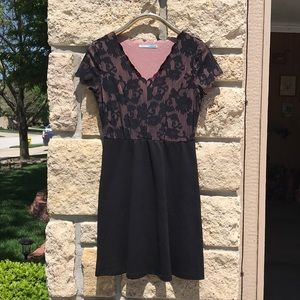 Maurices black/blush party dress
